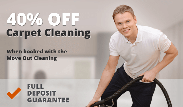 40% off Carpet Cleaning When Booked with The Move out Cleaning