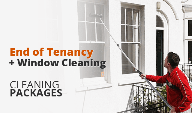 End of Tenancy Cleaning Plus Window Cleaning Packages