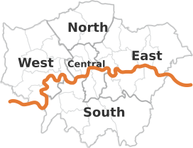 Areas in London where we offer end of tenancy cleaning