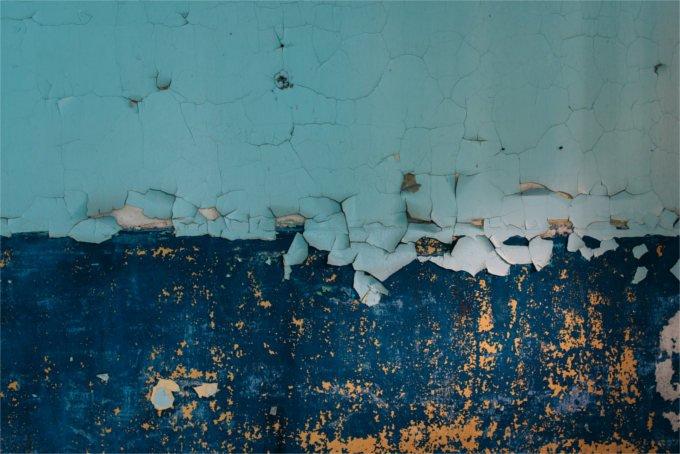 bleeding wall