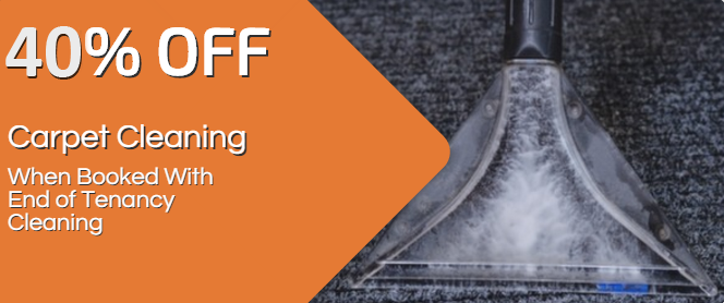 Get 40% Off Carpet cleaning combined with end of tenancy