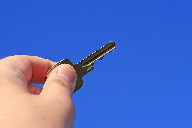 Property key at the end of tenancy to be returned to landlord